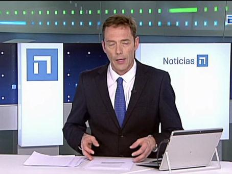 """""""Asturias, capital mundial de la poesía"""" en TPA Noticias y en Panorama Regional de TVE"""
