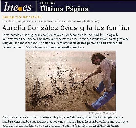 Los otros. Las personas que marcaron a los asturianos más destacados.