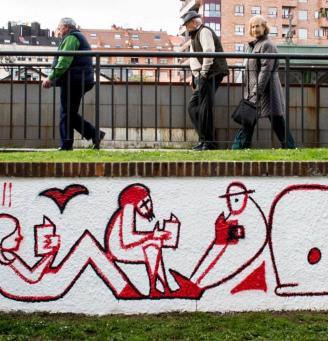 Hip-hop con versos de Miguel Hernández y un mural para el Día Mundial de la Poesía
