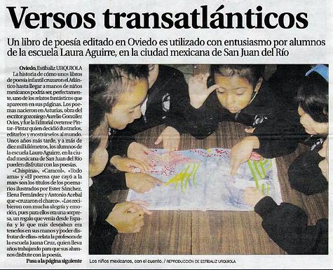 La poesía ilustrada de Aurelio González Ovies viaja a México