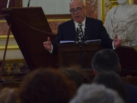Las voces de Aurelio González Ovies y Joaquín Pixán en el Congreso de los Diputados