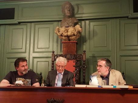 Presentación de Santiago Montobbio en la AEAE