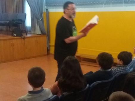 Poesía en el Colegio Celestino Montoto de Pola de Siero (Asturias)