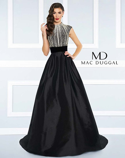 Mac Duggal 77269R Black