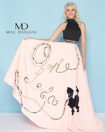 Mac Duggal 40763H Oh La La Pink