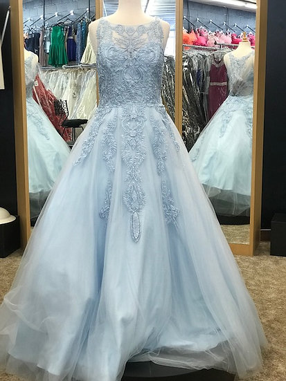 Jovani JVN68132B Light Blue