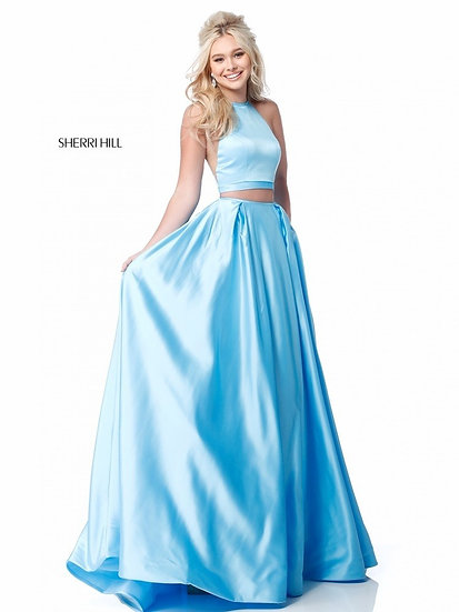 Sherri Hill 51883 Blue