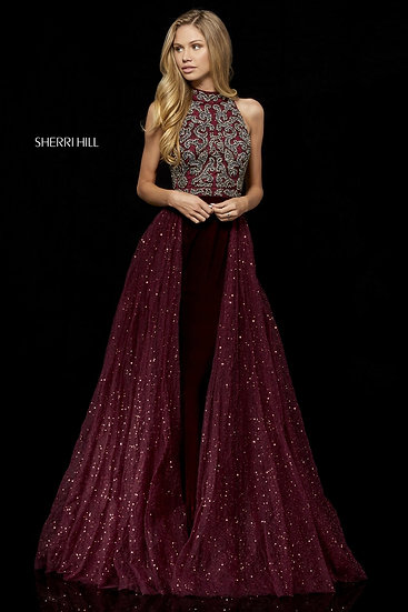 Sherri Hill 52275 Wine