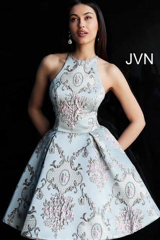Jovani JVN65513A Blue/Multi