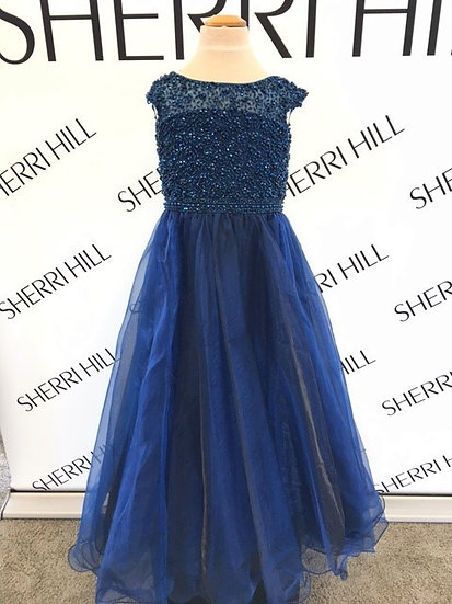 Sherri Hill K51260 Navy
