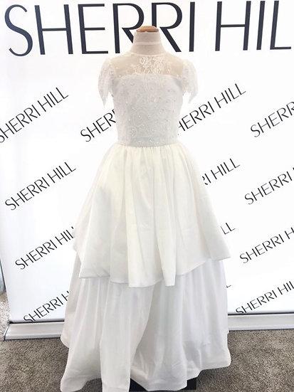 Sherri Hill K51257 Ivory