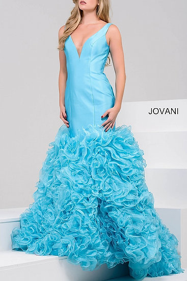 Jovani 41639A Turquoise