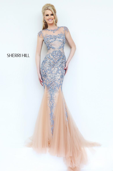 Sherri Hill 1939 Light Blue