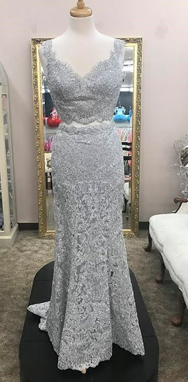 Sherri Hill 51192 Silver