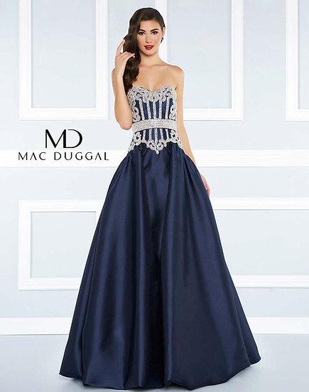 Mac Duggal 62894R Midnight Blue