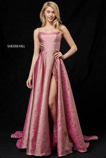 Sherri Hill 52140 Rosegold