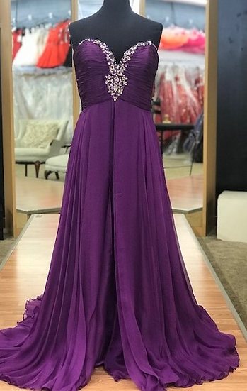 Mac Duggal 81265P Purple