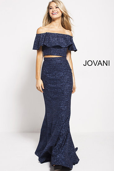 Jovani 57258A Navy
