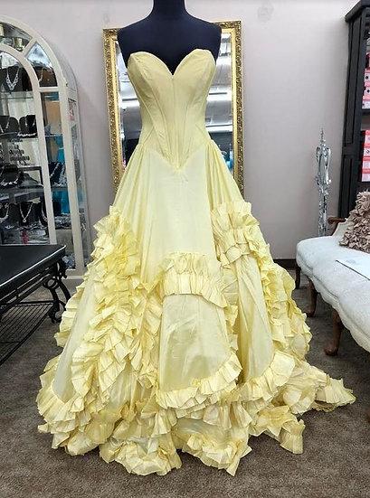 Sherri Hill 51578 Yellow