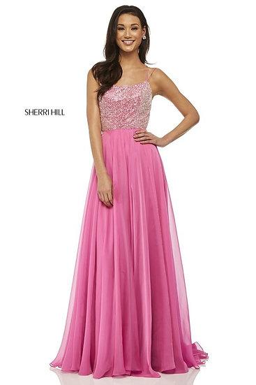 Sherri Hill 52591 Pink