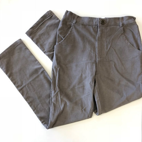 Evie's Closet Gray Corduroy Pants