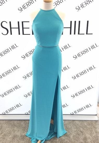 Sherri Hill 50784 Turquoise