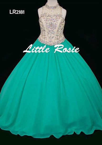 Little Rosie LR2181 Gold/Green