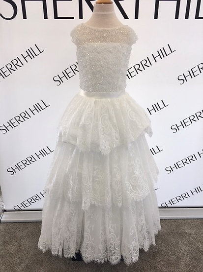 Sherri Hill K51254 Ivory