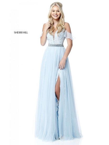 Sherri Hill 51656 Light Blue