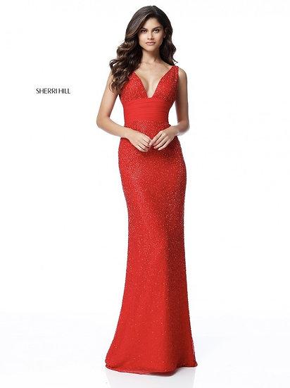 Sherri Hill 51641 Red