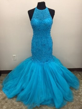 Sherri Hill 32095 Turquoise