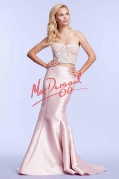 Mac Duggal 61875 Blush