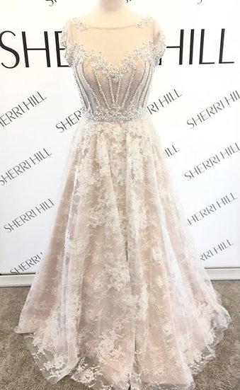 Sherri Hill 51010 Ivory