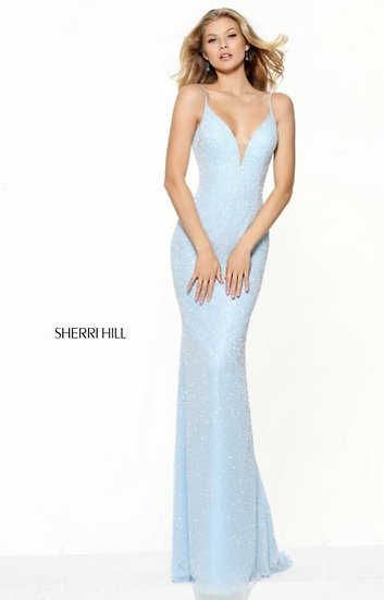Sherri Hill 50860 Light Blue