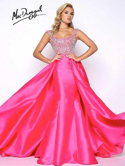 Mac Duggal 62730 Hot Pink