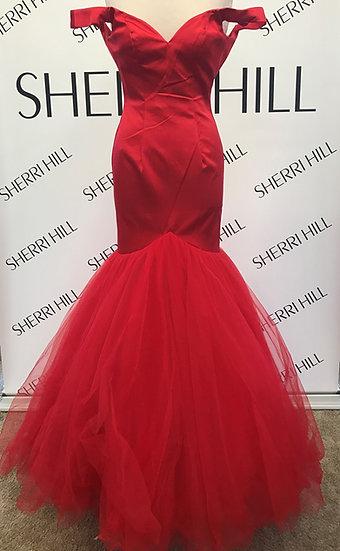 Sherri Hill 50732 Red