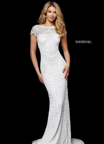 Sherri Hill 52312 Ivory