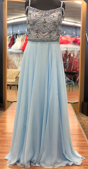 Sherri Hill 51658 Light Blue
