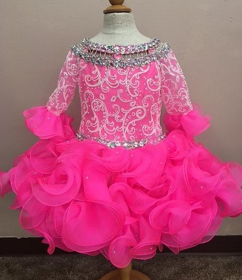 Ritzee B953 Pink/White*