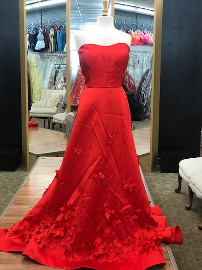 Sherri Hill 52582 Red