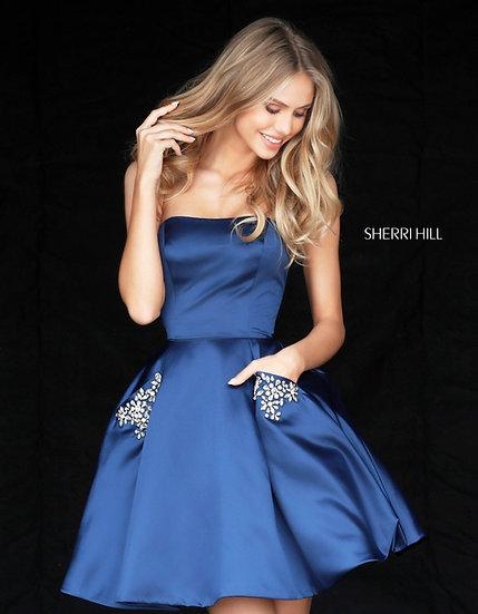 Sherri Hill 51390 Navy