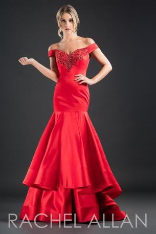 Rachel Allan 8235 Red