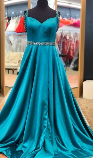 a3ee4935d93 Sherri Hill 52388 Turquoise