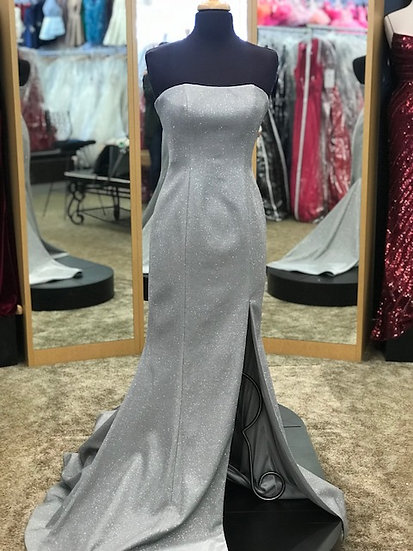Sherri Hill 52362 Electric Silver