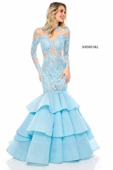 Sherri Hill 52044 Light Blue