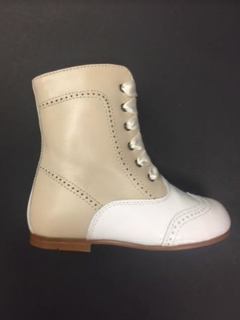 Geppettos Ankle Boot White/Cream