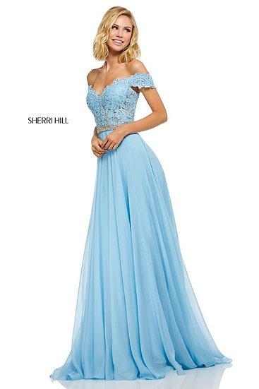Sherri Hill 52729 Light Blue