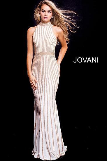 Jovani 56001A White/Gold