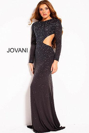 Jovani 59679A Gunmetal