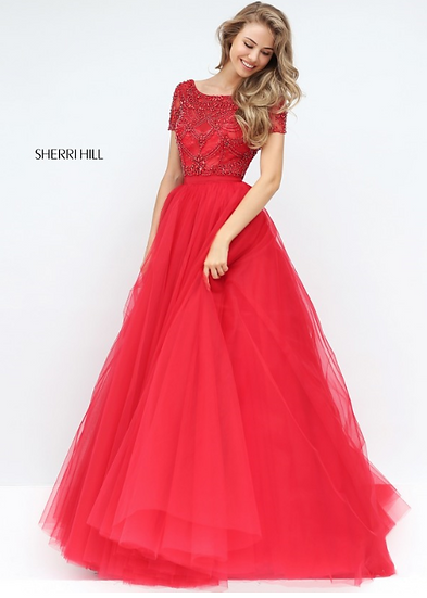 Sherri Hill 50710 Red